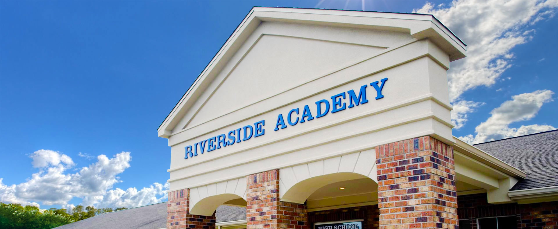 Riverside Academy Front of Building